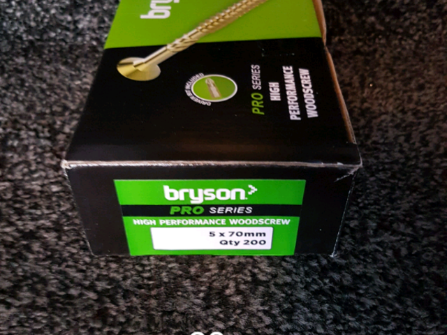Bryson high performance wood Screws