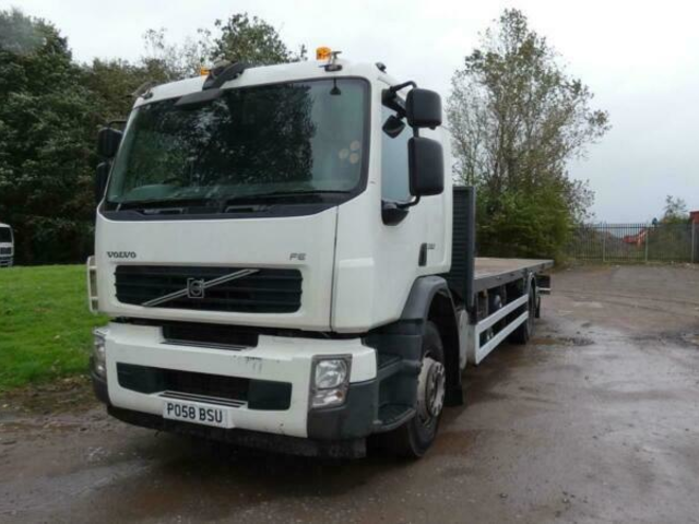2008 Volvo FE 280 26 tonne flatbed truck for sale