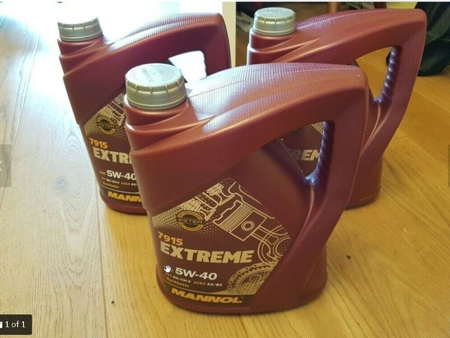 5w40 Fully Synthetic Engine Oil