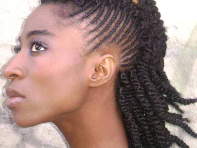 African pigtails