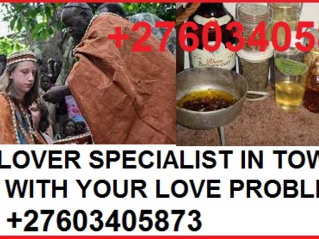 GREAT TRADITIONAL HERBALIST BRING LOST LOVER BACK +27603405873