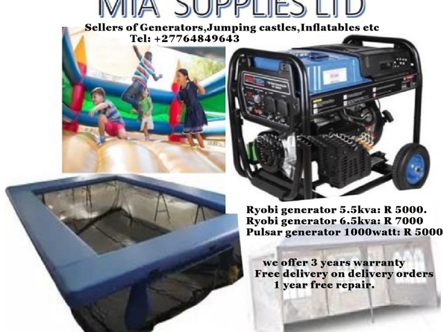 Inflatable castles for sale