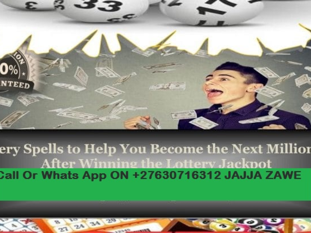 LOTTERY SPELLS THAT WORK IMMEDIATELY TO WIN HUGE MONEY FROM GAMBLING GAMES